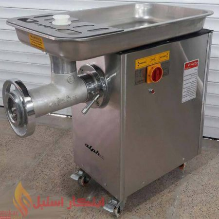 چرخ گوشت صنعتی گیربکسی مدل آلفا 32