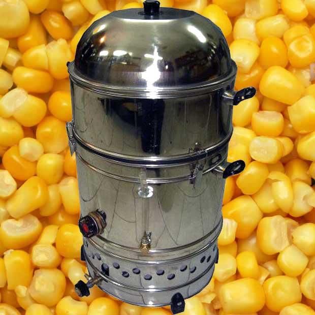 دیگ بخار پز ذرت مکزیکی | فروش دستگاه ذرت مکزیکی | دیگ پخت ذرت مکزیکی