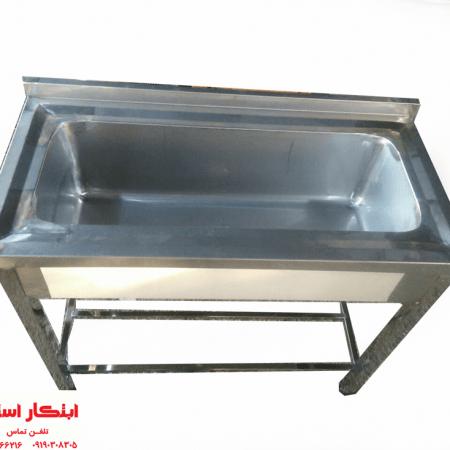 سینک ظرفشویی صنعتی و نیمه صنعتی | سینک استیل ظرفشویی | سینک رستوران