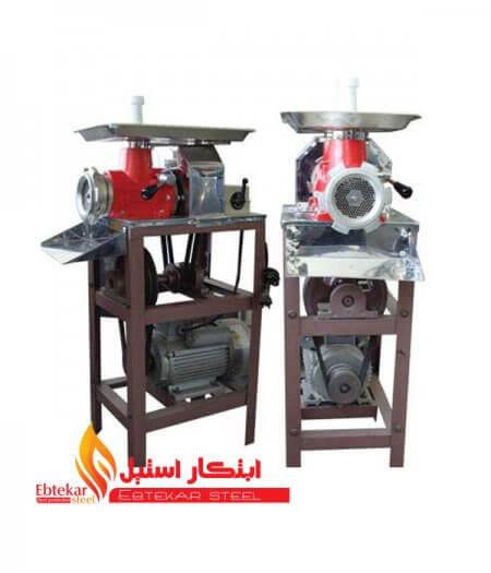 چرخ گوشت 32 تسمه ای | دستگاه چرخ گوشت تسمه ای | گوشت چرخ کن تسمه ای
