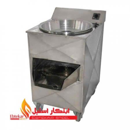 حلیم صاف کنی استیل | دستگاه حلیم صاف کنی صنعتی | دستگاه صاف کن گندم