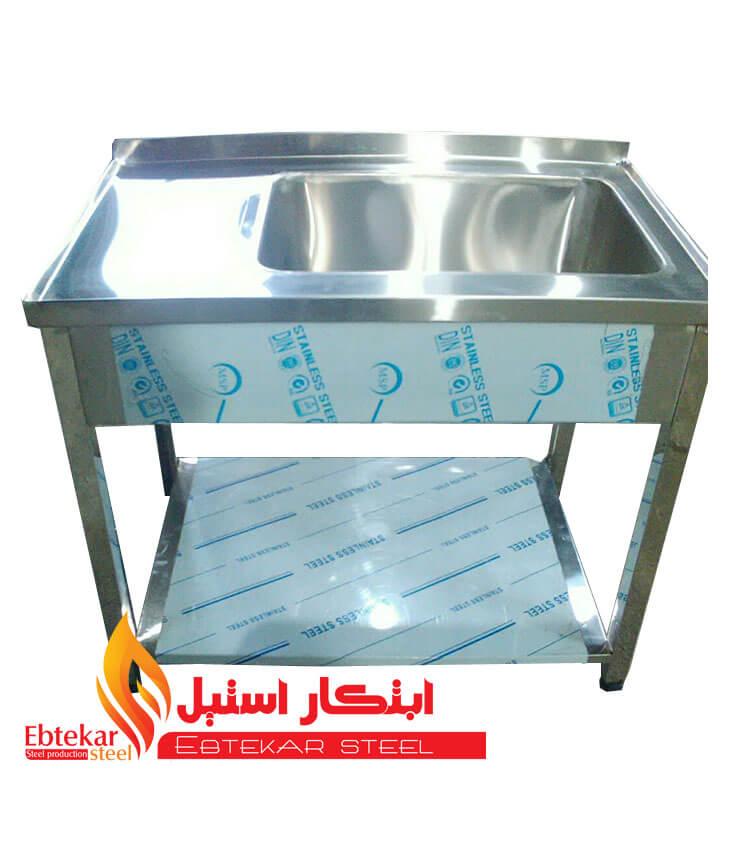 سینک ظرفشویی رستورانی   سینک ظرفشویی صنعتی   سینک استیل ظرفشویی