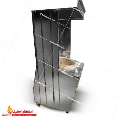 تنور گلی گازی خانگی