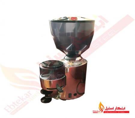 آسیاب قهوه | دستگاه آسیاب کن قهوه استیل | قهوه آسیاب کن صنعتی استیل