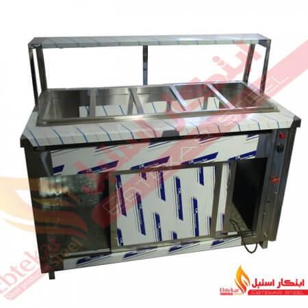 کانتر گرم 150 سانتی متر | کانتر استیل گرم 150 سانت | کانتر گرم 1.5 متر