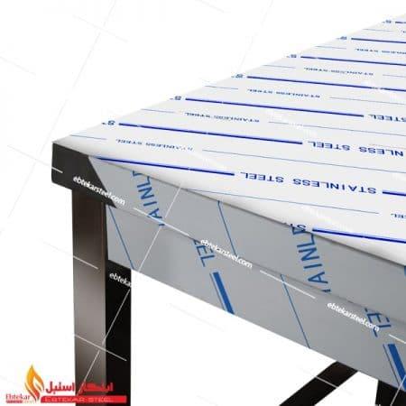 میز کار استیل یک متری