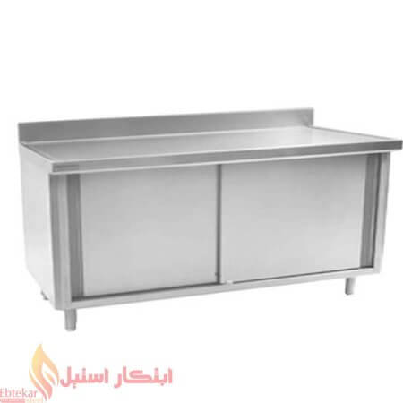 کابینت رستوران صنعتی | کابینت صنعتی استیل | کابینت استیل رستورانی