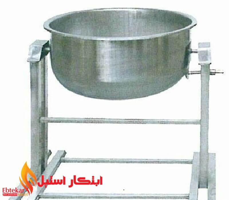 پاتیل چکشی خورشت و برنج | دیگ چکشی خورشت و برنج | پاتیل گردان