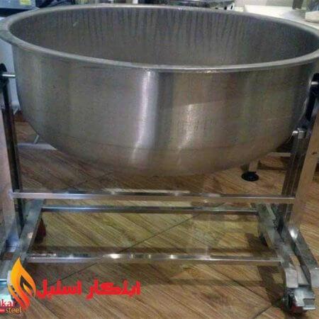 پاتیل برنج رستوران و کیترینگ | دیگ برنج خیس کنی رستوران و کیترینگ