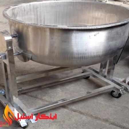 پاتیل خیساندن برنج دهانه 70 سانتی