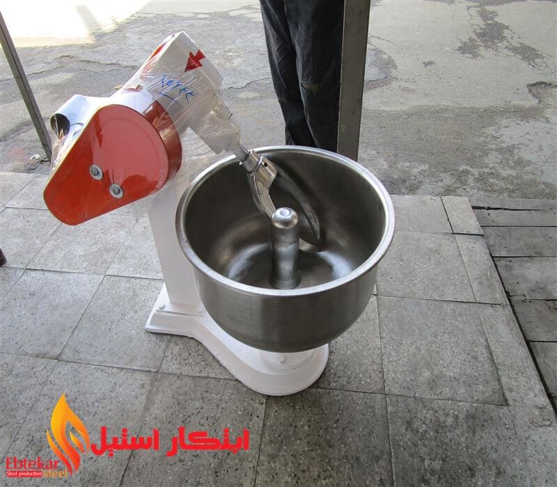 دستگاه خمیرگیر صنعتی | دستگاه خمیر گیر پیتزا | خمیرگیر صنعتی نانوایی