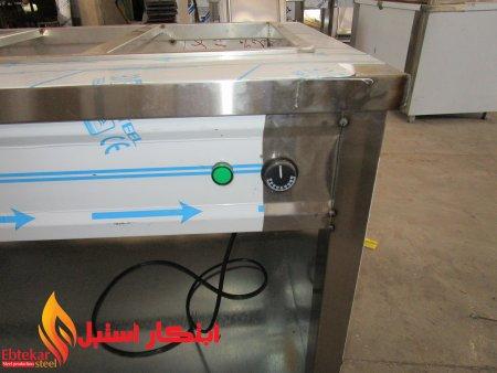 لگن کانتر گرم | بنماری کانتر گرم گازی | لگن کانتر گرم استیل المنتی