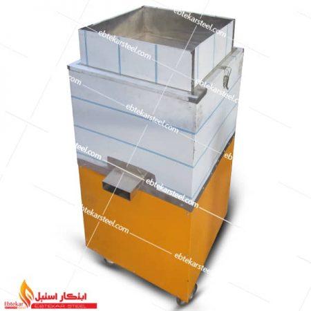 دستگاه رب گوجه گیری نیمه صنعتی