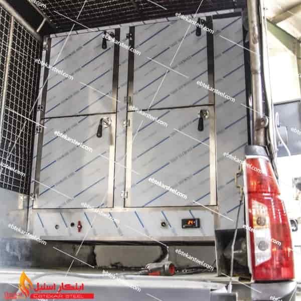 گرمخانه سیار خودرو